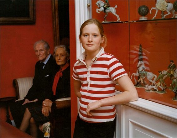Tina Barney - The Granddaughter, 2004 Courtesy the artist and Janet Borden Inc., New York - See more at: http://www.vogue.it/en/people-are-talking-about/vogue-arts/2010/09/the-faces-of-power#ad-image37118