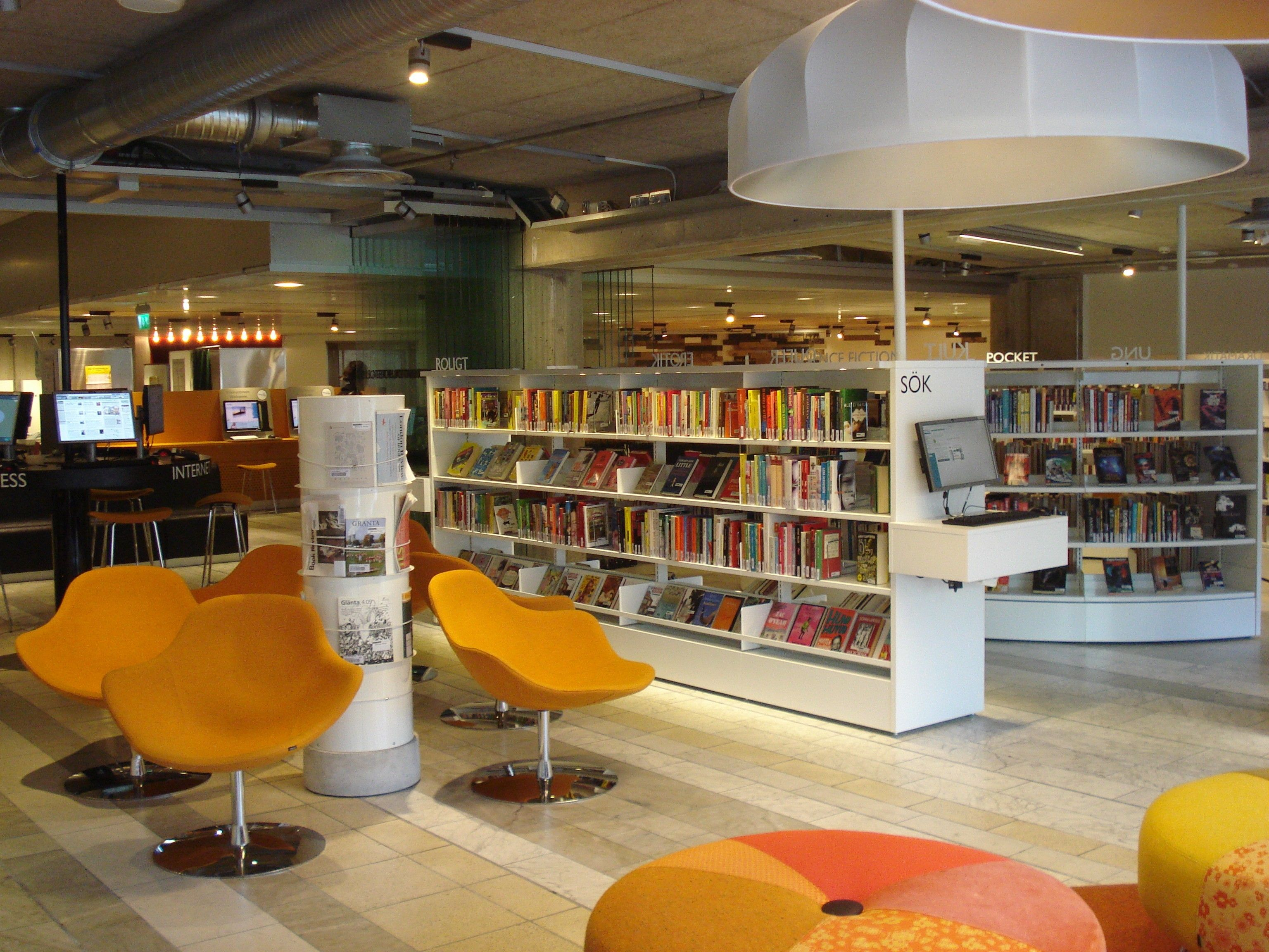 The Stockholm Cultural House in Sweden | Book Club | Pinterest ...