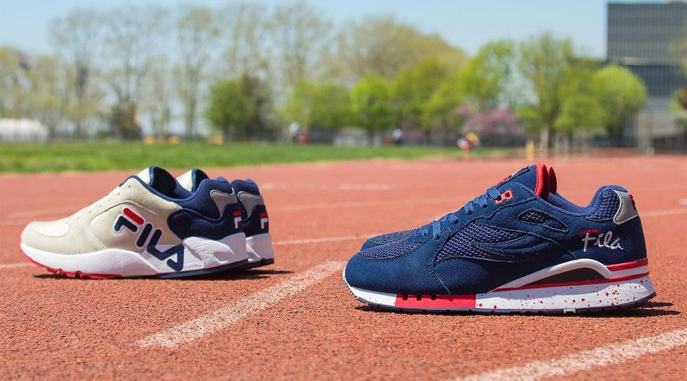 FILA Relays a New Pack of Archive Runners