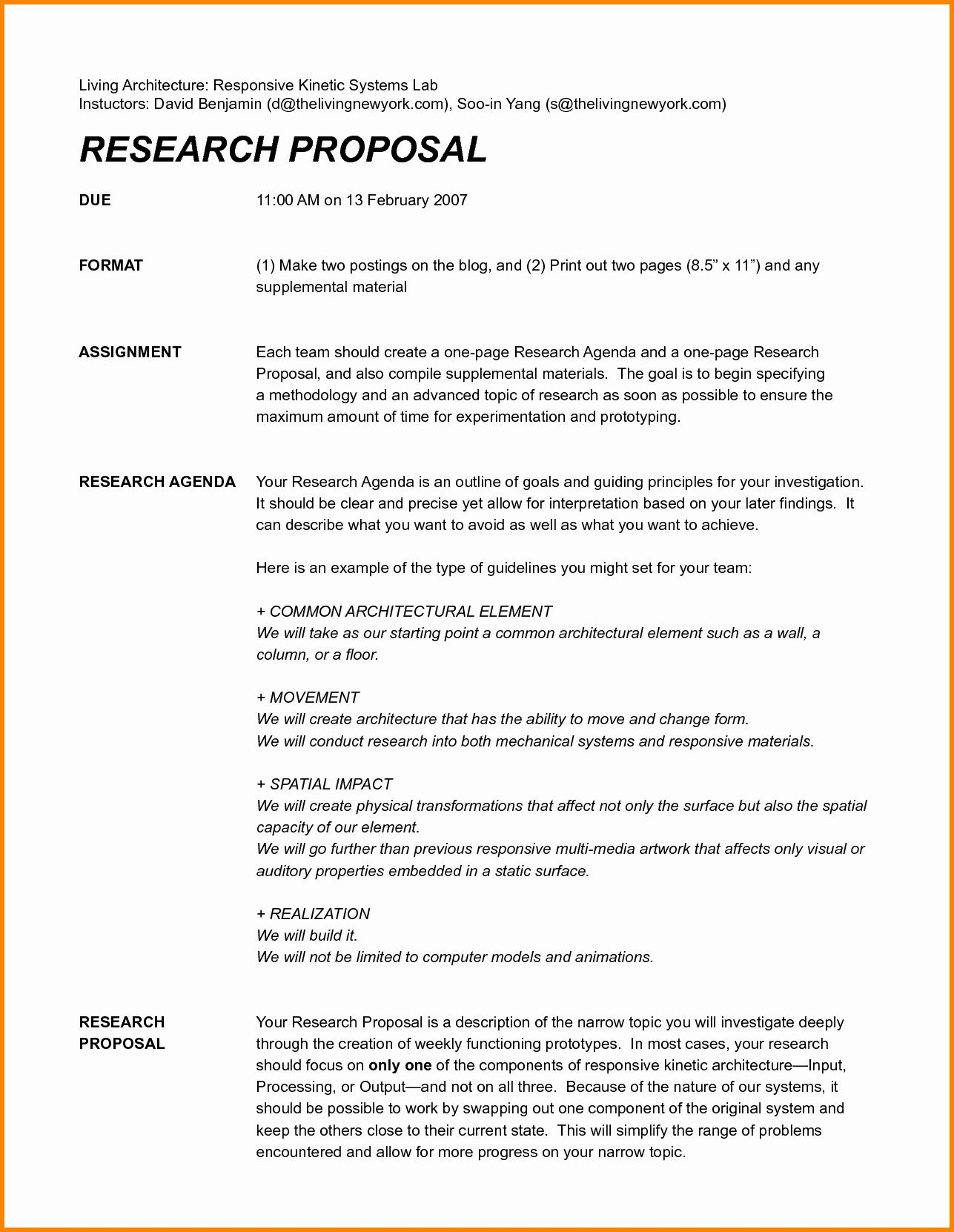 One Page Proposal Template Doc Inspirational Research Proposal Assignment Writing A Research P Research Proposal Proposal Templates Writing A Research Proposal