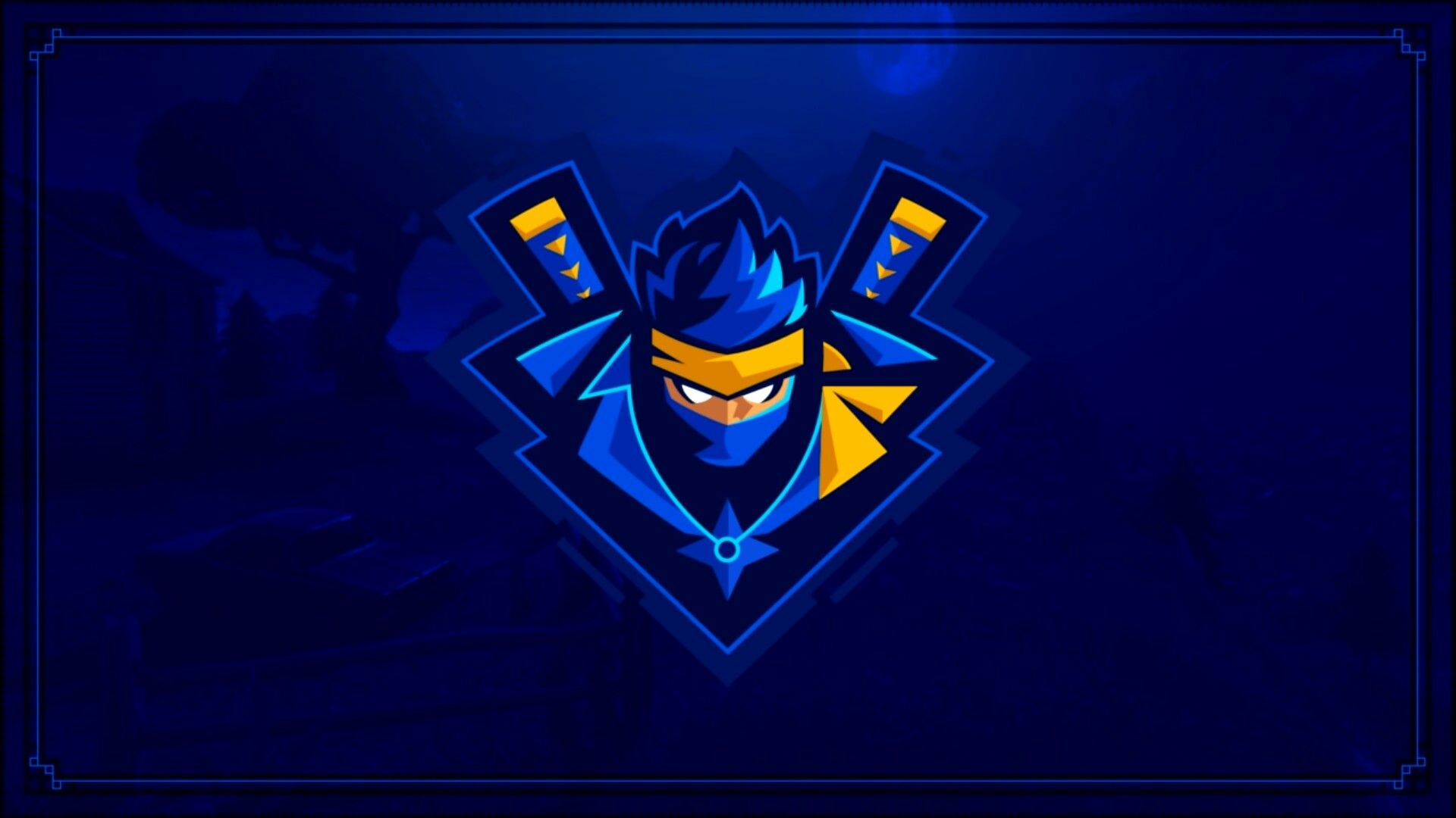 Ninja Logo Game happy, Ninja, Ninja logo