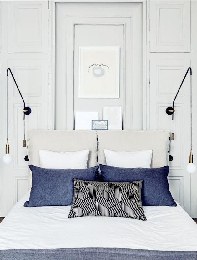 Photos by Felix Forest  Maison HANDfirma il restyling degli interni di un appartamento originario dell' 800 a Lione, riuscendo a far coesistere mera