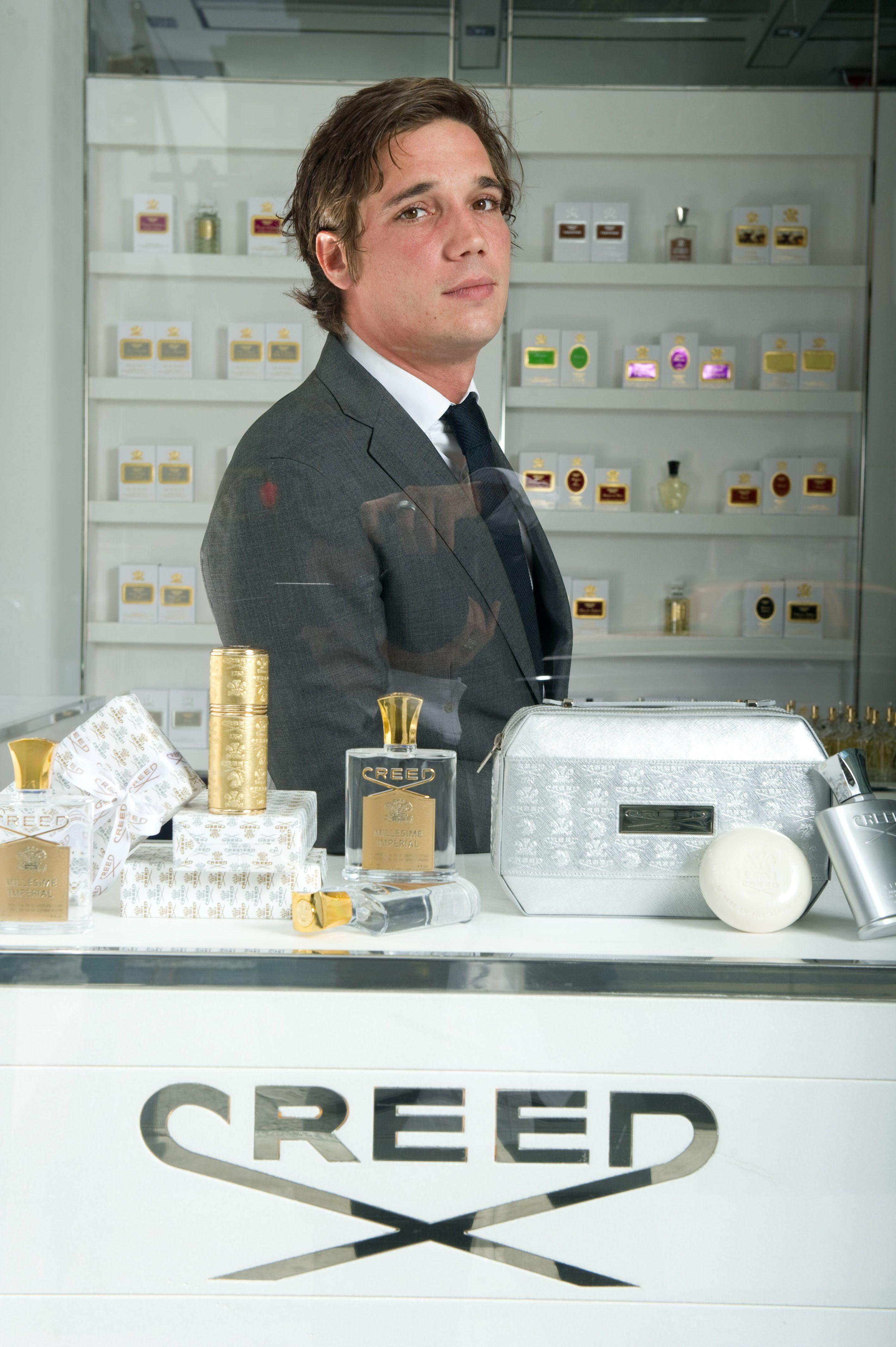 Favorite Perfumer Erwin Creed