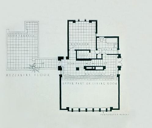 Millard house segunda frank lloyd wright pinterest for Frank lloyd wright flooring