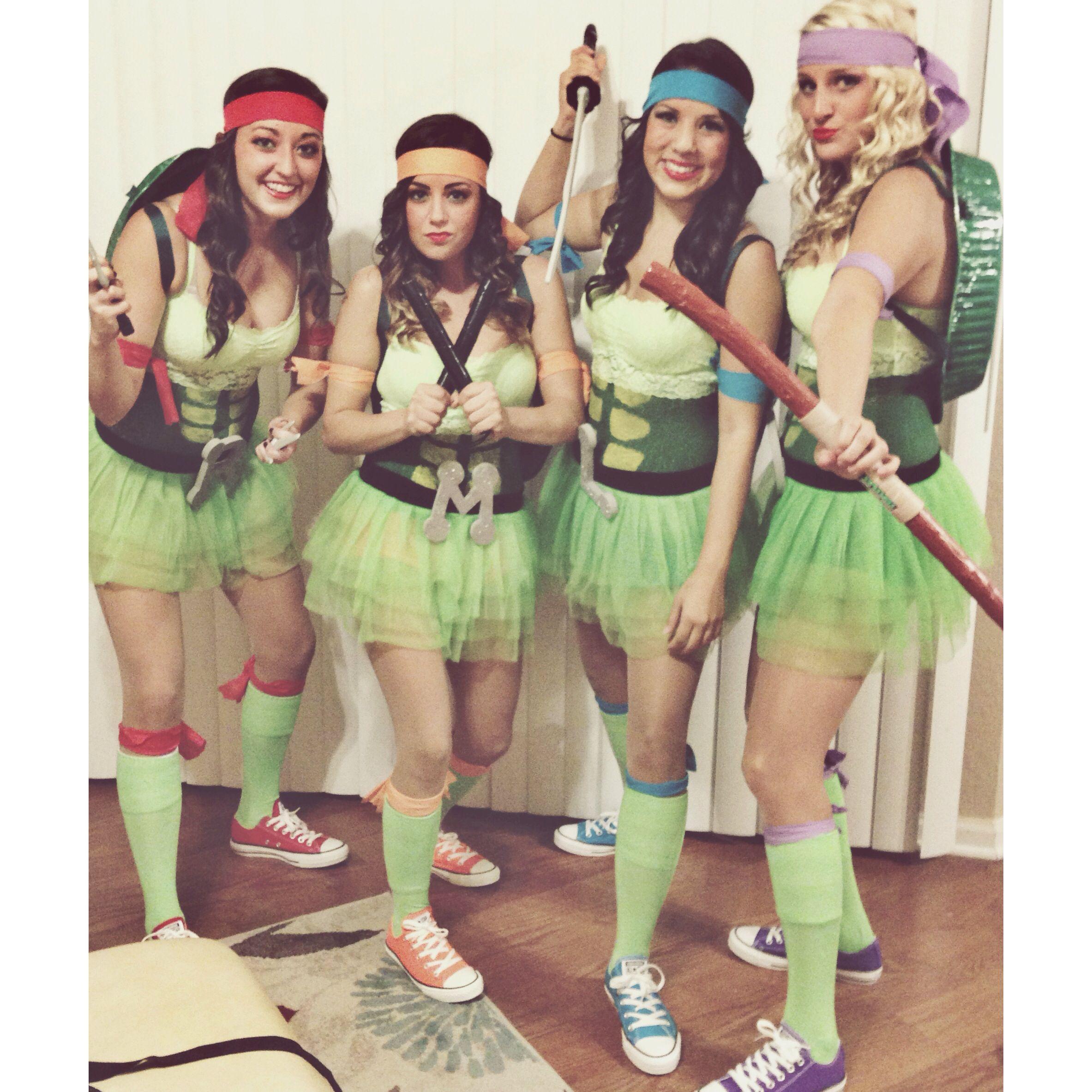 Diy ninja turtle costumes kawabunga dude pinterest diy ninja diy ninja turtle costumes solutioingenieria Image collections