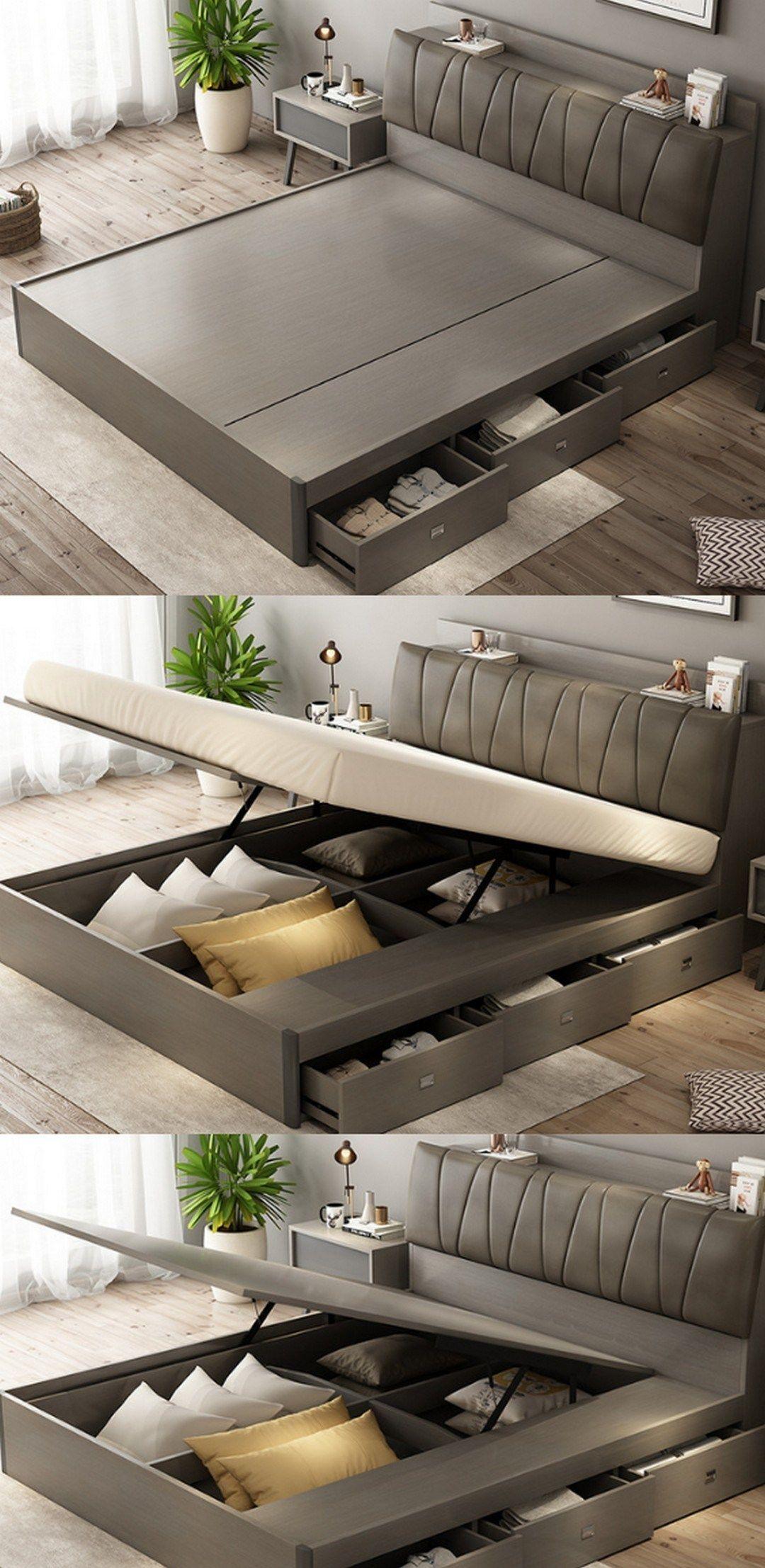 63 Awesome Double Bed Idea – Farmhouse Room