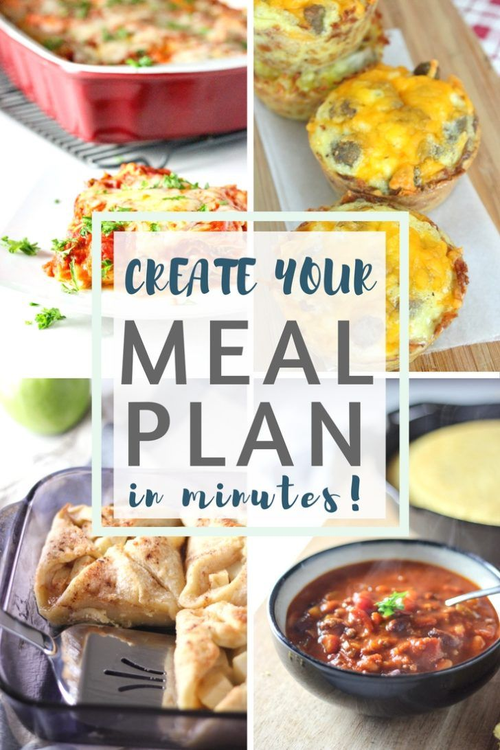 How to create my own diet plan