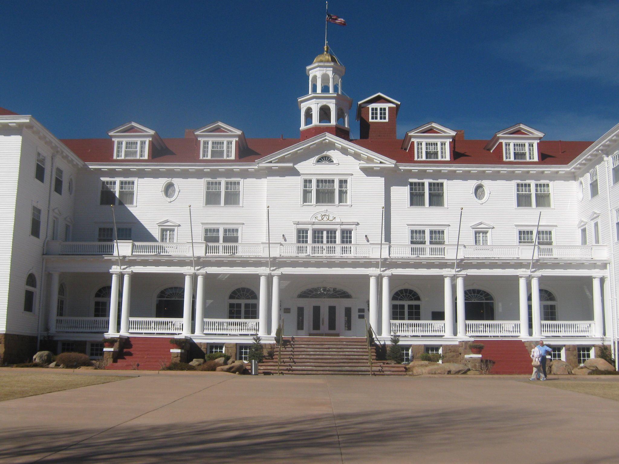 Hotel Used In Shining. Esties Park Colorado