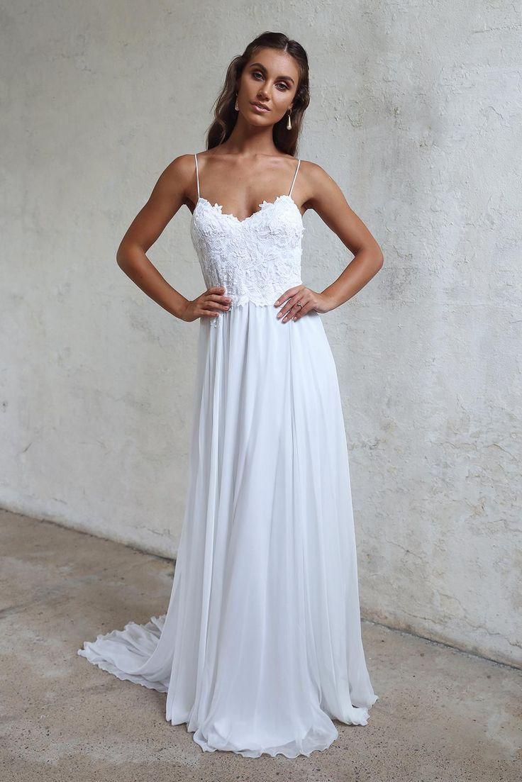Tara grace loves lace long prom dress pinterest wedding