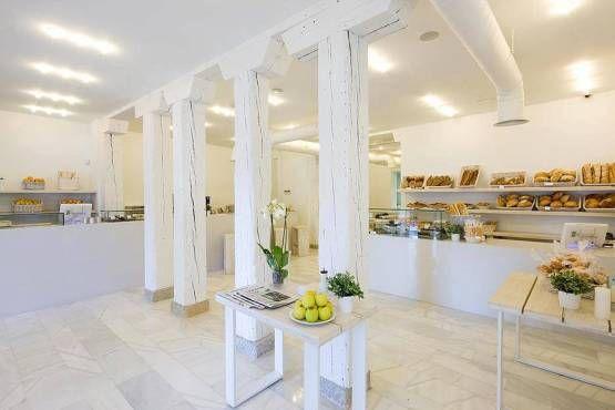 Panadería Harina – Madrid | Panaderías, Diseño de interiores ...