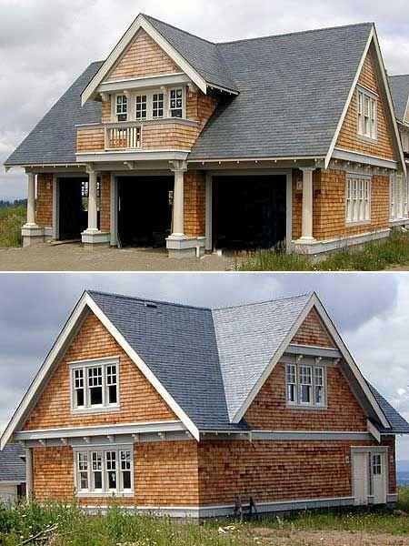 Plan AM Garage Cottage