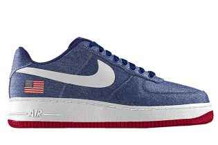pretty nice 4d814 25939 NikeiD Launches Embroidered Flag Option for Nike Air Force 1