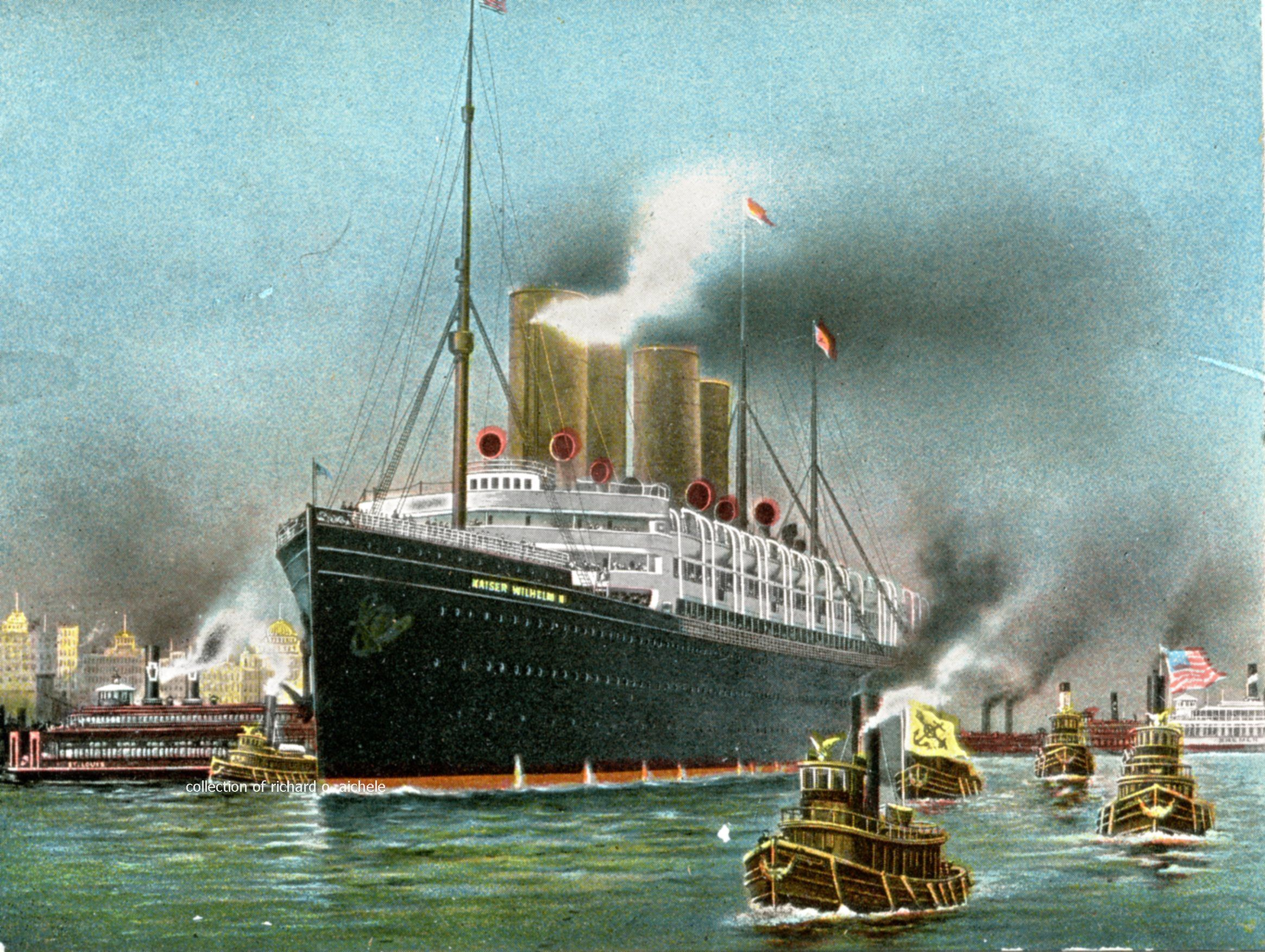 Memorable Ocean Liners And Ships Cruise Ship