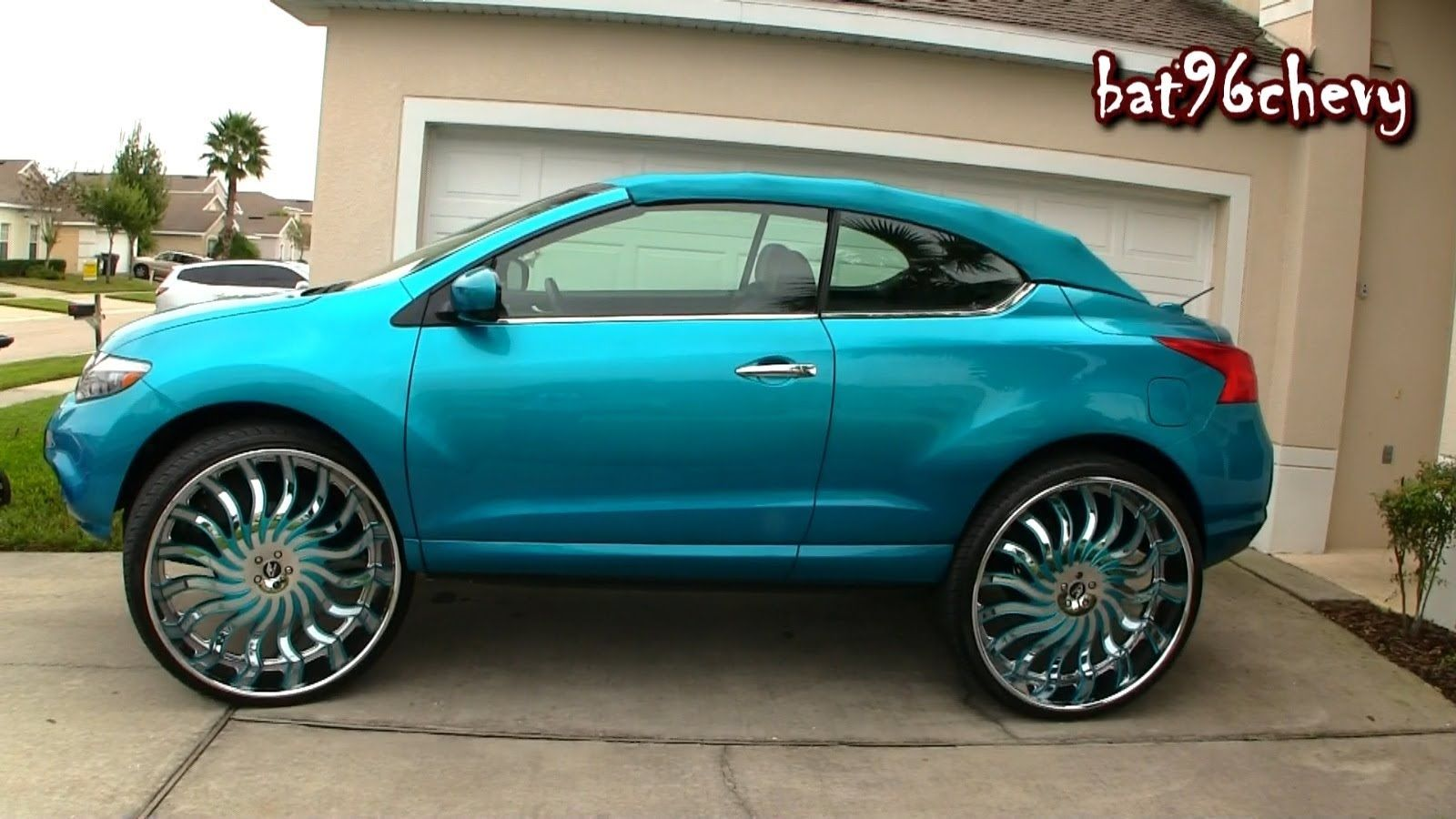 Females candy teal nissan murano convertible on 32quot vroom females candy teal nissan murano convertible on 32quot publicscrutiny Images