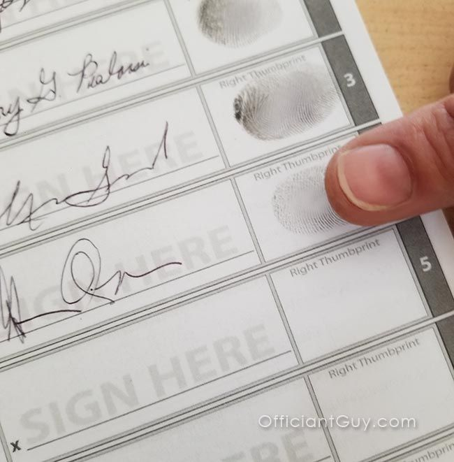Do You Get A Marriage License Before Or After The Wedding