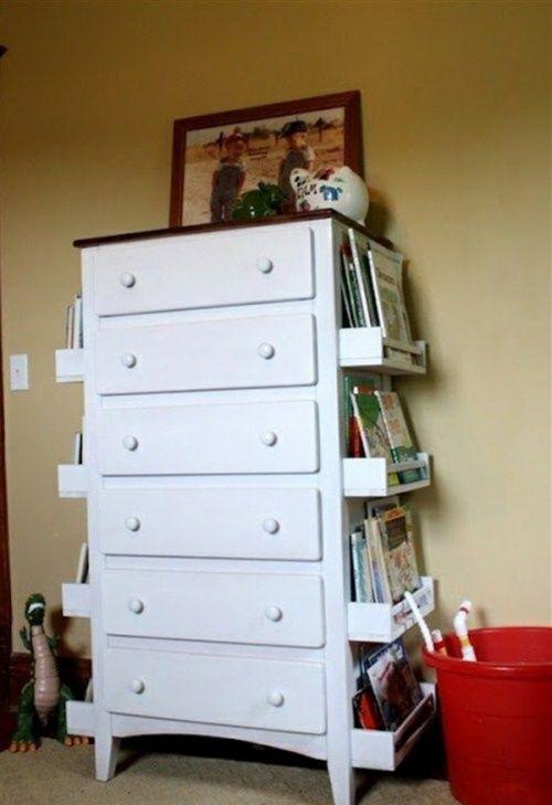 Полки для специй — как полки для книг   Работы по дому ...