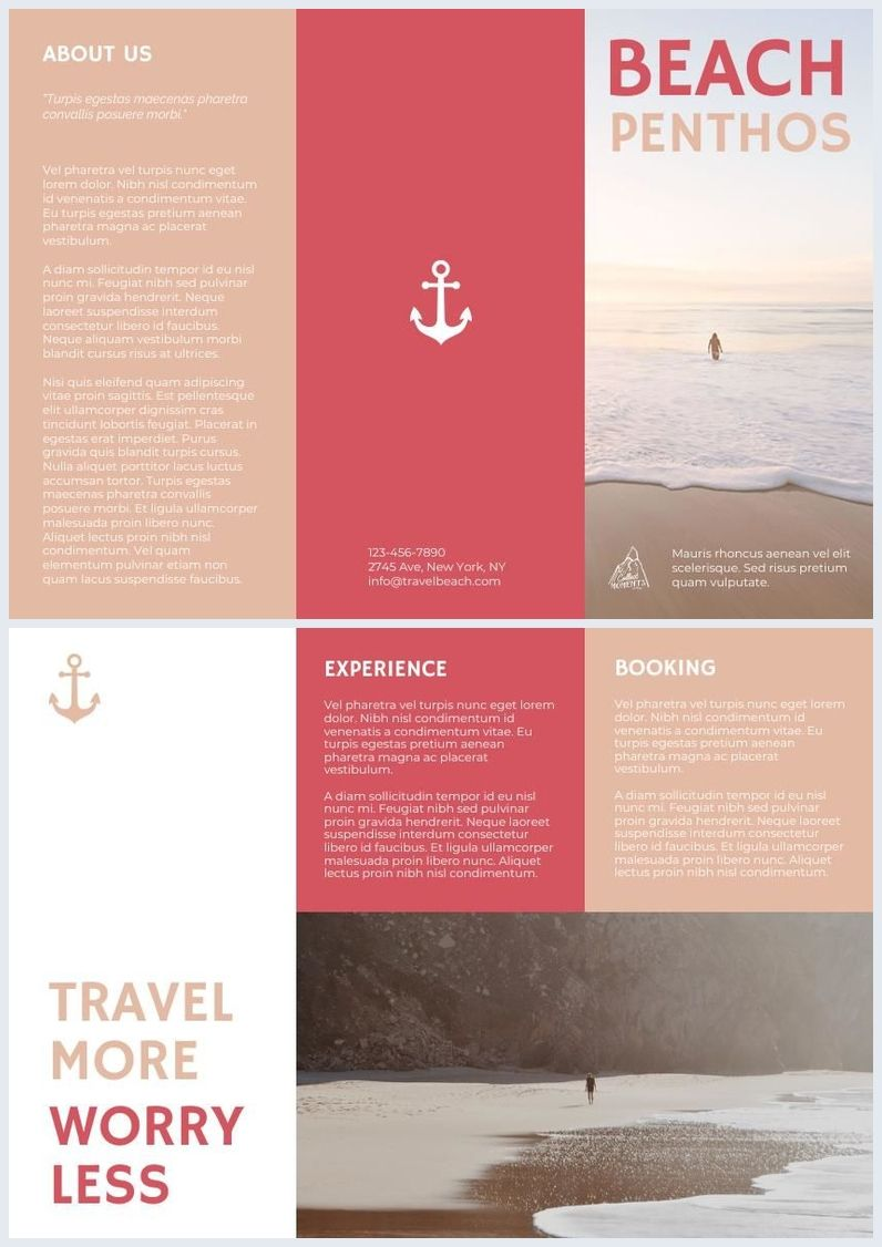 Pastel Travel Trifold Brochure Template Travel Brochure Design Trifold Brochure Template Trifold Brochure Tri fold travel brochure template