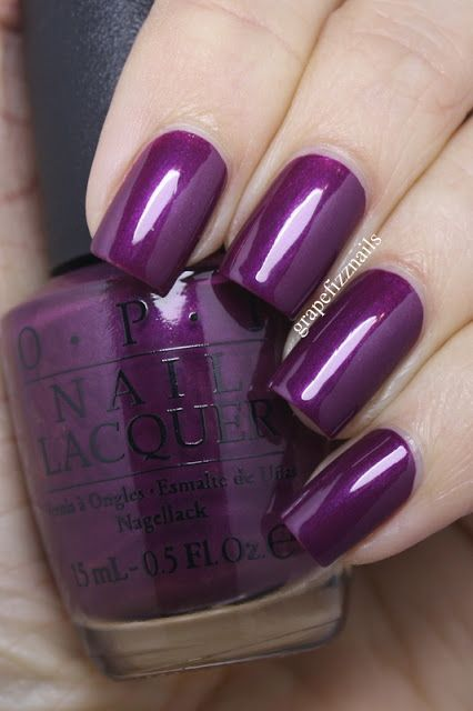 grape fizz nails: OPI Starlight Collection Winter 2015 Swatches and Review: I'm In The Moon For Love