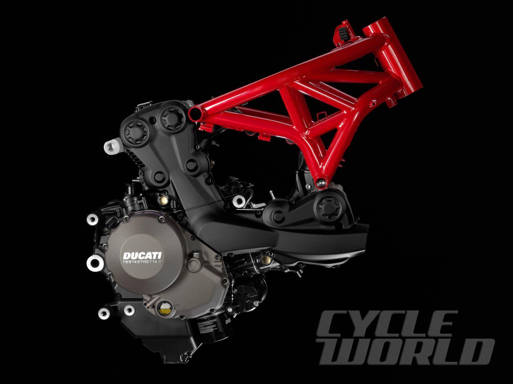 Engine Frame Photo 2 Ducati Monster Ducati Monster 1200 Ducati Monster 1200 S