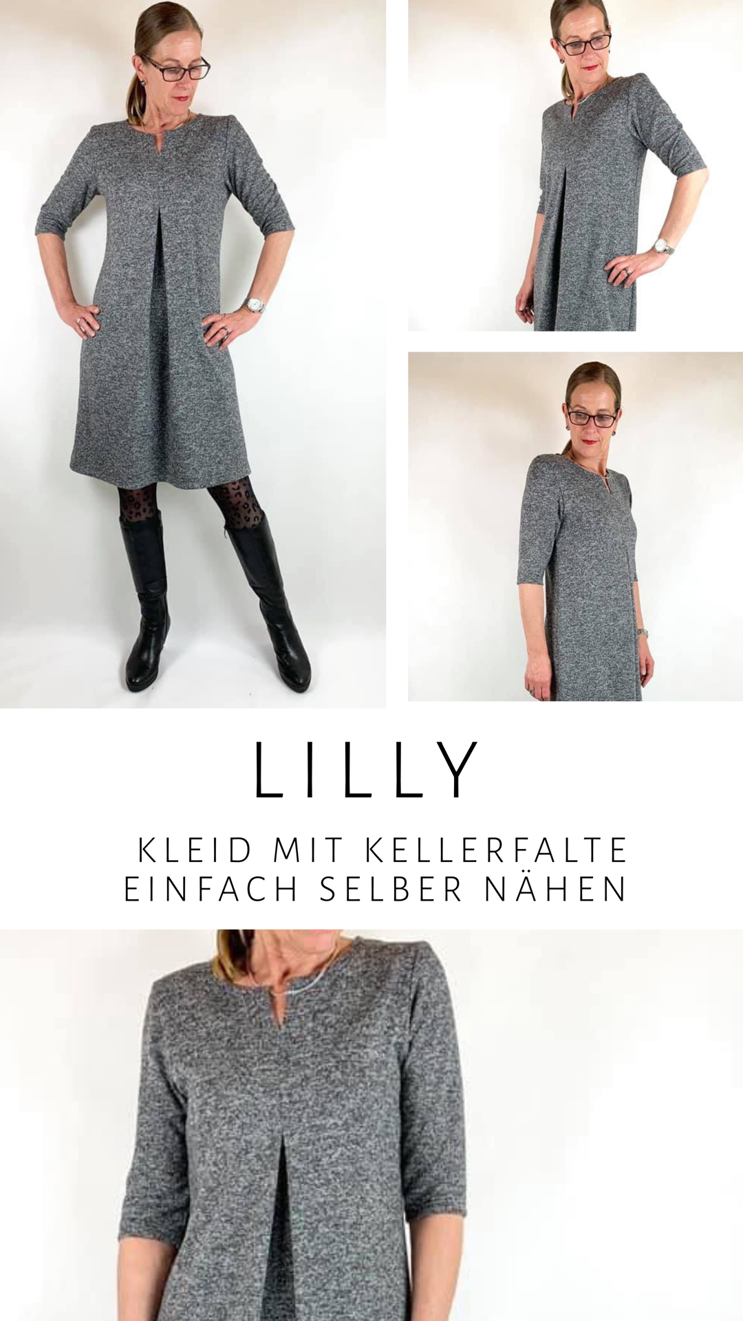 lilly - kleid oder shirt für anfänger nähen - finasideen