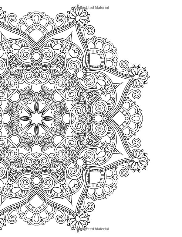Mandala linda para colorir | Точечная роспись | Pinterest | Mandala ...