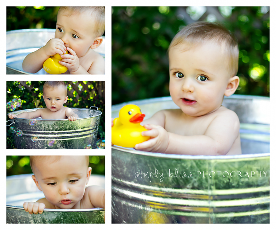 baby boy, bath tub photography prop, rubber duckie | Photography ...