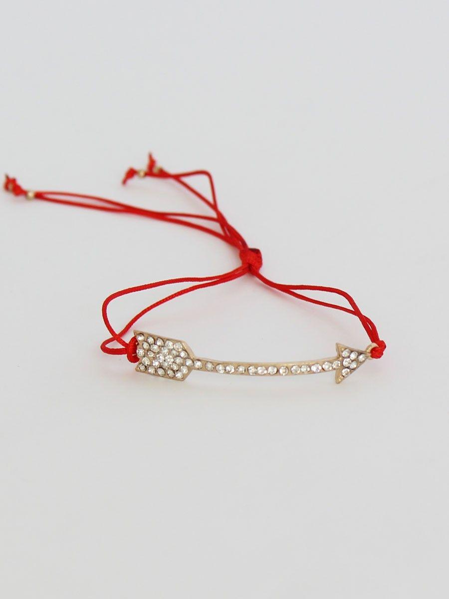 Arrow friendship bracelet