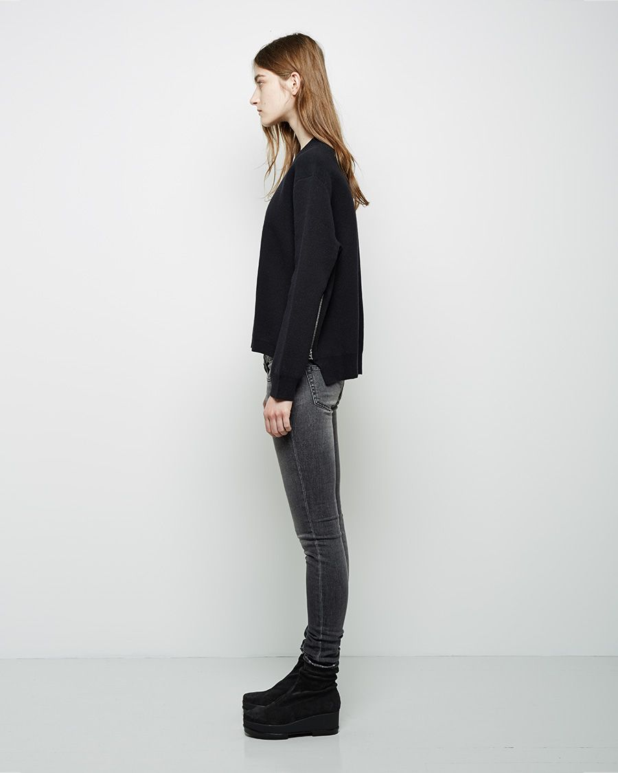 898dc1c84650 Robert Clergerie   You Wedge Boots Acne Studios   Misty Zip Pullover R13    Skinny Jean  pf14  ss14