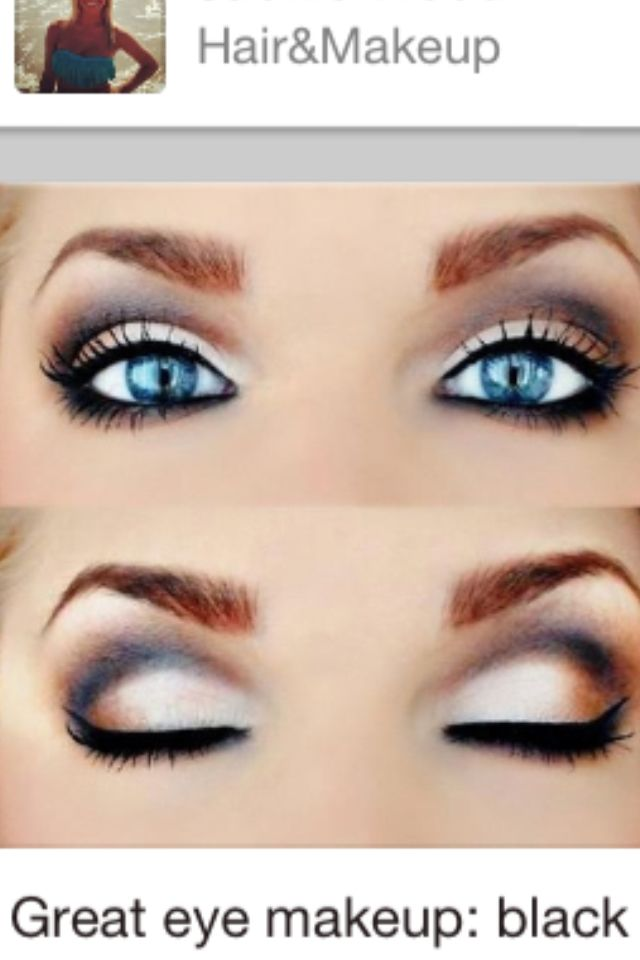 How To Make Blue Eyes Pop Makeup Pinterest Makeup Hair Makeup