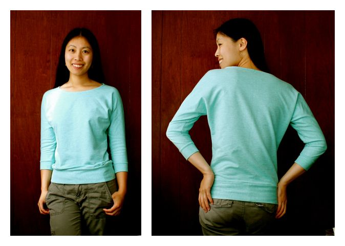 Cation Designs Free Sewing Pattern Dolman Sleeve Top I Need This