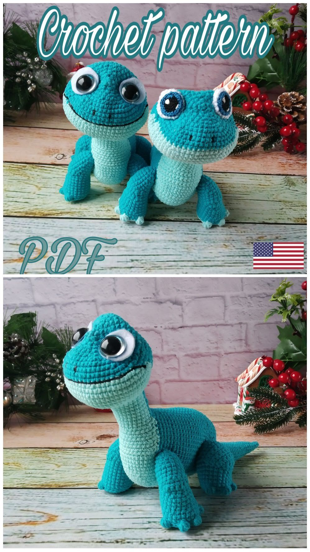 Bearded Dragon (lizard) amigurumi crochet pattern | Crochet beard ... | 1773x997