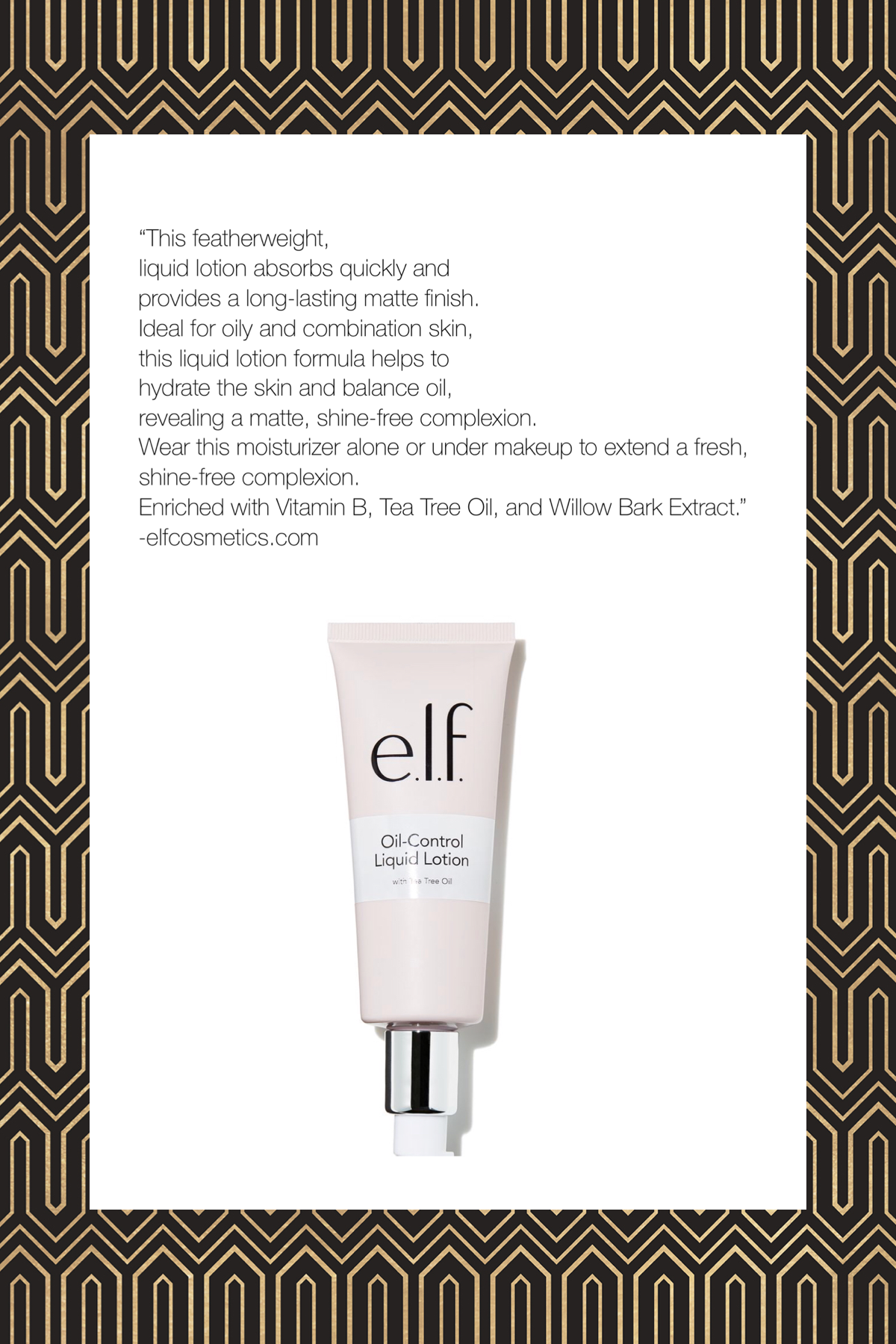 elf+ Mattifying Lotion by e.l.f. #17