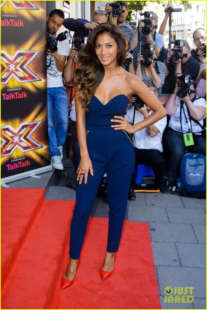 Nicole Scherzinger: 'X Factor UK' Season Ten Launch! | nicole
