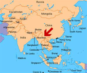 Mynamar Travel Agent Myanmar Map myanmar Pinterest