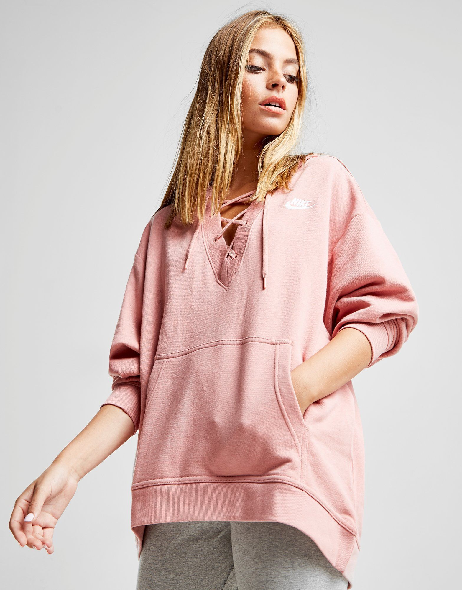 51634eed59 Nike Lace Up Hoodie - Shop online for Nike Lace Up Hoodie with JD Sports,  the UK's leading sports fashion retailer.