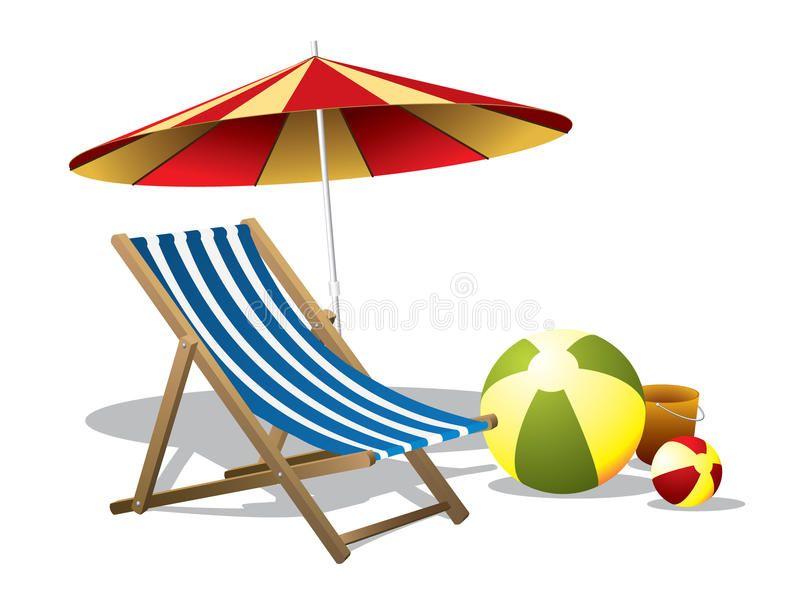 Beach Chair With Umbrella Vector Illustration Of A Beach Chair With Umbrella Affiliate Umbrella Cha Beach Chair Umbrella Beach Chairs Mattress Sofa Diy