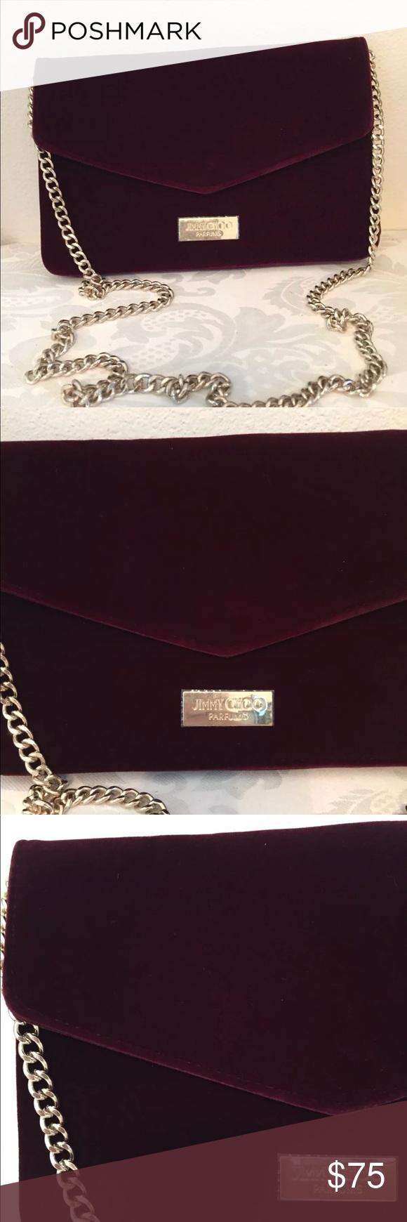 84bbed79e93 Jimmy Choo cosmetic makeup case purse Brand new jimmy Choo handbag bag ⚠