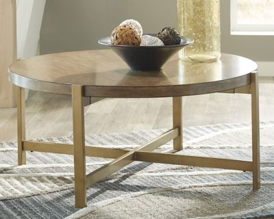 Pleasant Franston Coffee Table Products Table Round Coffee Table Interior Design Ideas Gentotryabchikinfo