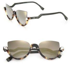 b324462be9 Fendi 52MM Embellished Semi-Rimless Acetate Sunglasses -  505.00 ...