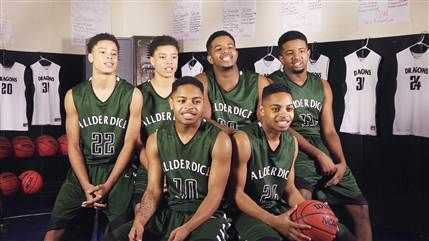 Kenny and Keith Robinson, Davaughn and Javaughn Moultrie, and Tim and James Jackson are all members of the Allderice High School in Pittsburgh.  Know as  have had their fans seeing double since the beginning of their winning season. Know as Twinsanity the tree sets of twins are the High school basketball team's stars.