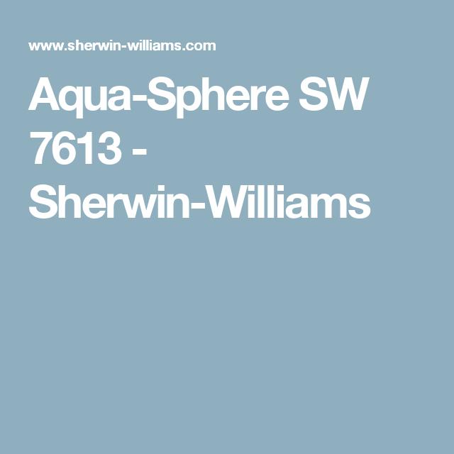 Aqua Sphere Sw 7613 Timeless Color Paint Color Sherwin Williams Sherwin Williams Paint Colors Sherwin Williams Purple Paint Colors