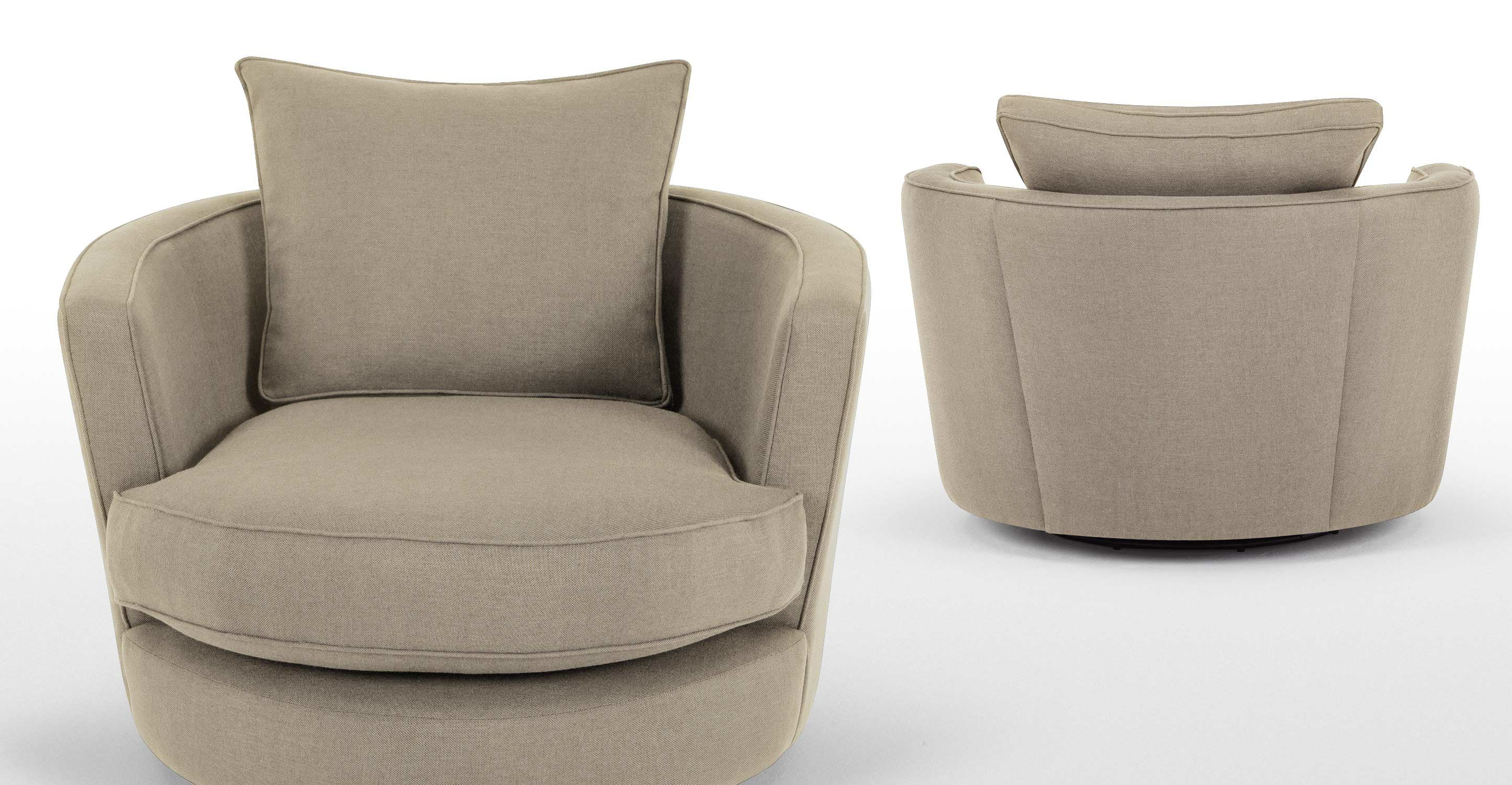 Leon Swivel Love Seat, Mink Grey From Made.com. Makes A Fresh, Inspired  Choice. With Playful, Curved Lines And Swivel Base For Extra Fun Factor. In  ..