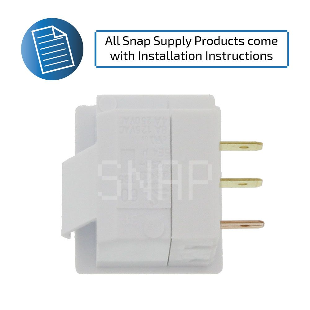 Installation Instructions – Replacement Refrigerator Light Switch ...
