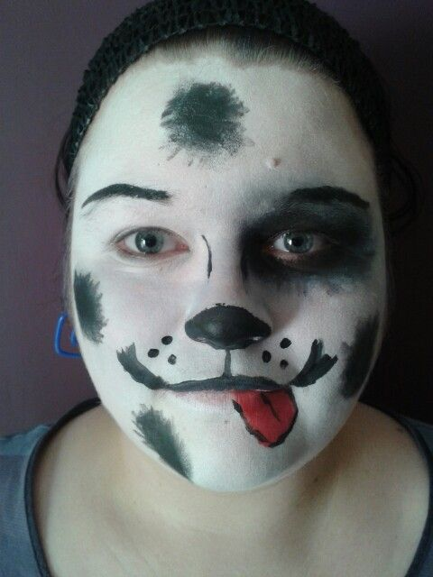 Puppy Dog Face Paint Holloween Pinterest Dog Face Paints