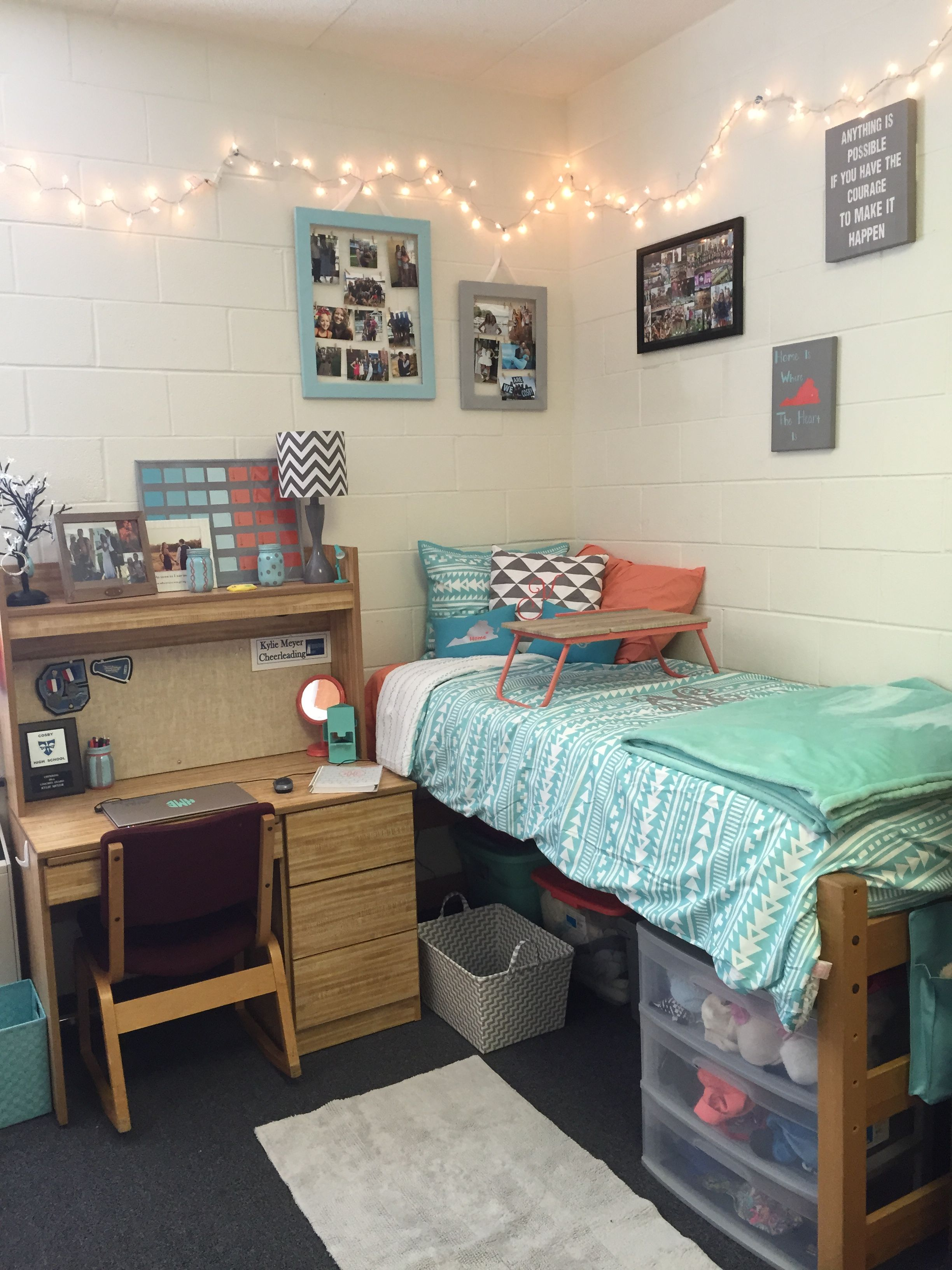 Dorm Room Styles: My Dorm At Christopher Newport University.
