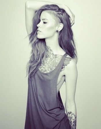Undercut...a large part of me wants too :D I WANT THIS. THIS IS SO ...