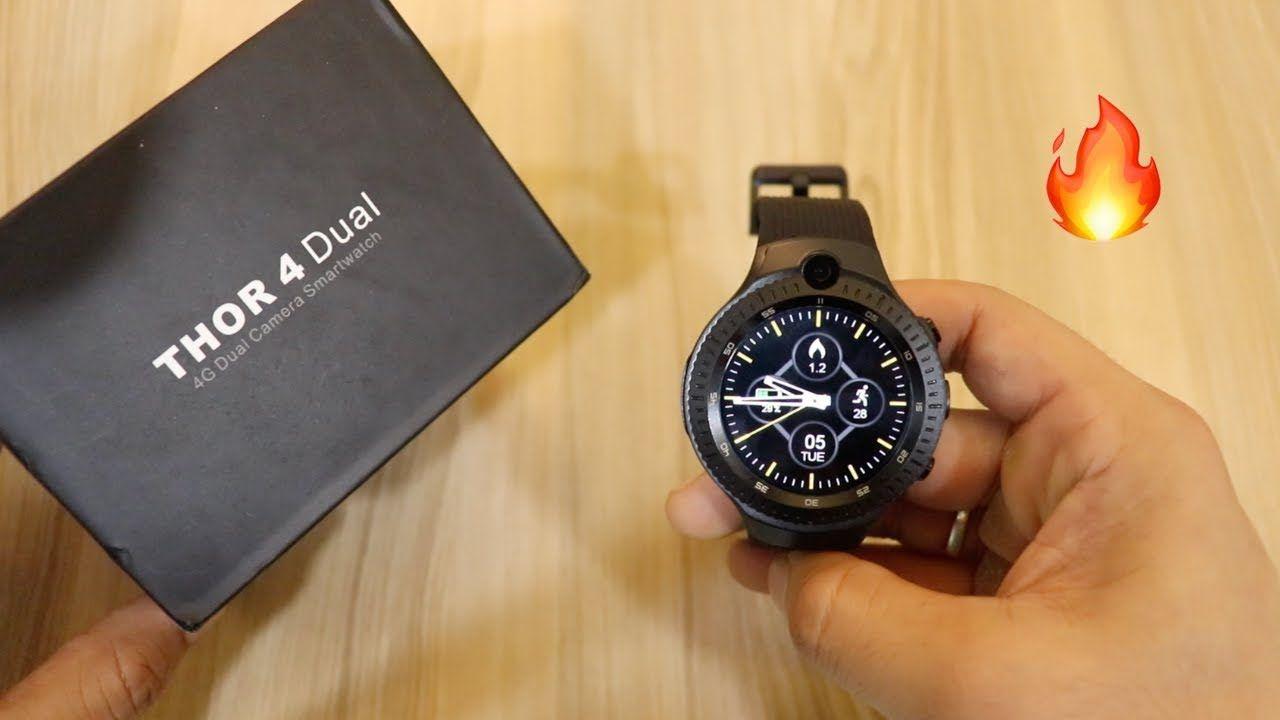 Smart Watch Zeblaze THOR 4 Dual Unboxing | Tech Unboxing