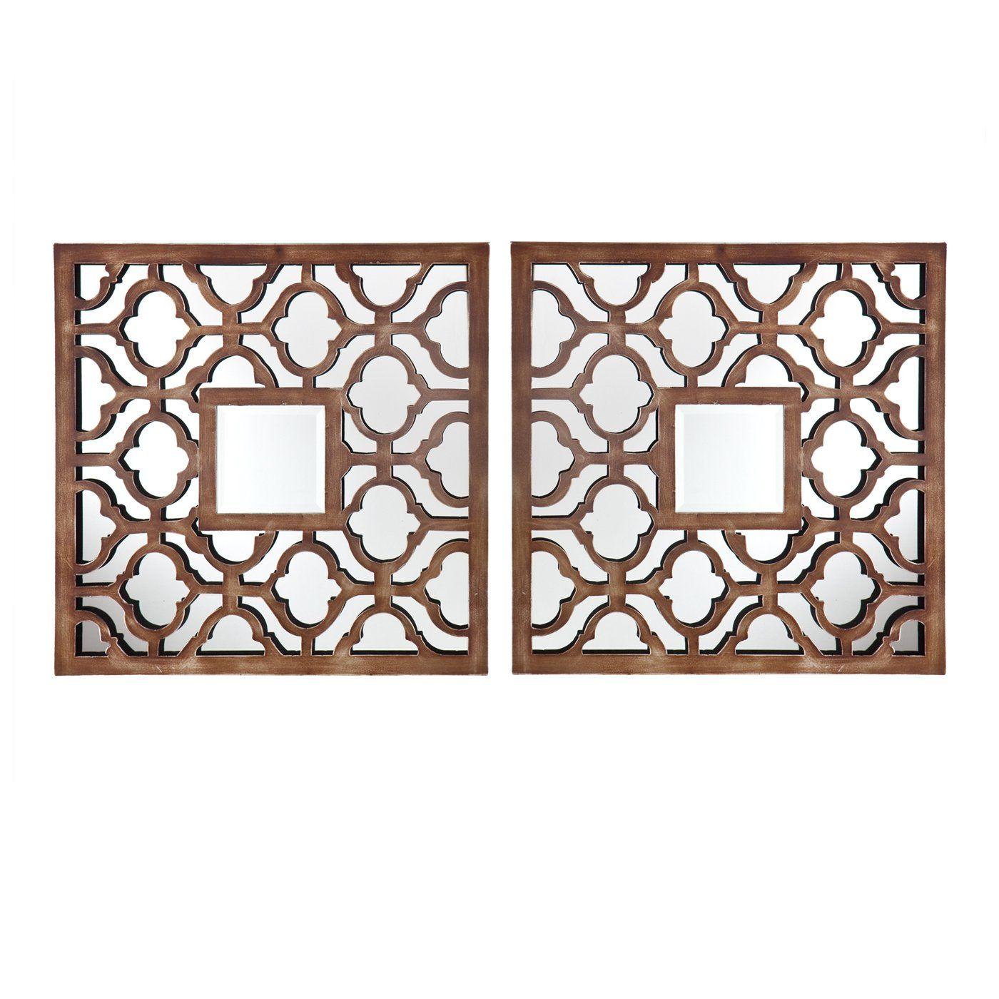 Boston Loft Furnishings ATG4199 Tira Decorative Mirror Set