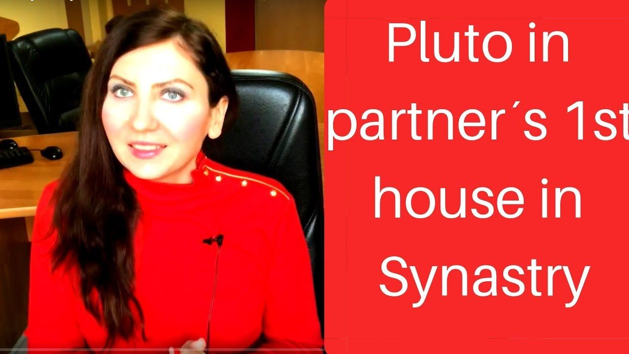 Pluto in Partner's 1st house in Synastry | Synastry planets, aspects