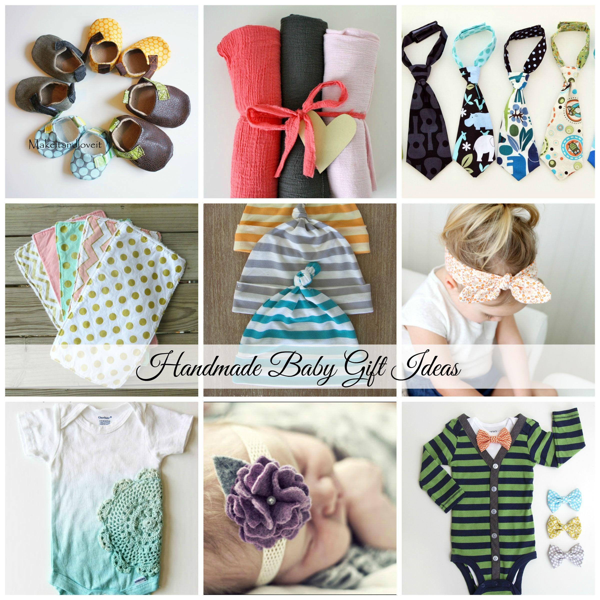 Handmade Baby Gift Ideas | Handmade baby, Babies and Gift